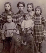 <p>Horowitz family, Vilna, Poland, ca. 1905</p><p>National Museum of American Jewish History, 1983.27.1</p><br /><span></span>