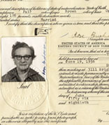 <p>Naturalization certificate of Rose Buchman</p><p>Brooklyn, New York, June 19, 1956</p><p>National Museum of American Jewish History, 1994.34.3.B</p><p>Gift of Laya Back</p><br /><span></span>