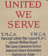 <p>United War Work Campaign, ca. 1918</p><p>National Museum of American Jewish History, 2006.1.1156</p><p>Peter H. Schweitzer Collection of Jewish Americana</p><br /><span></span>