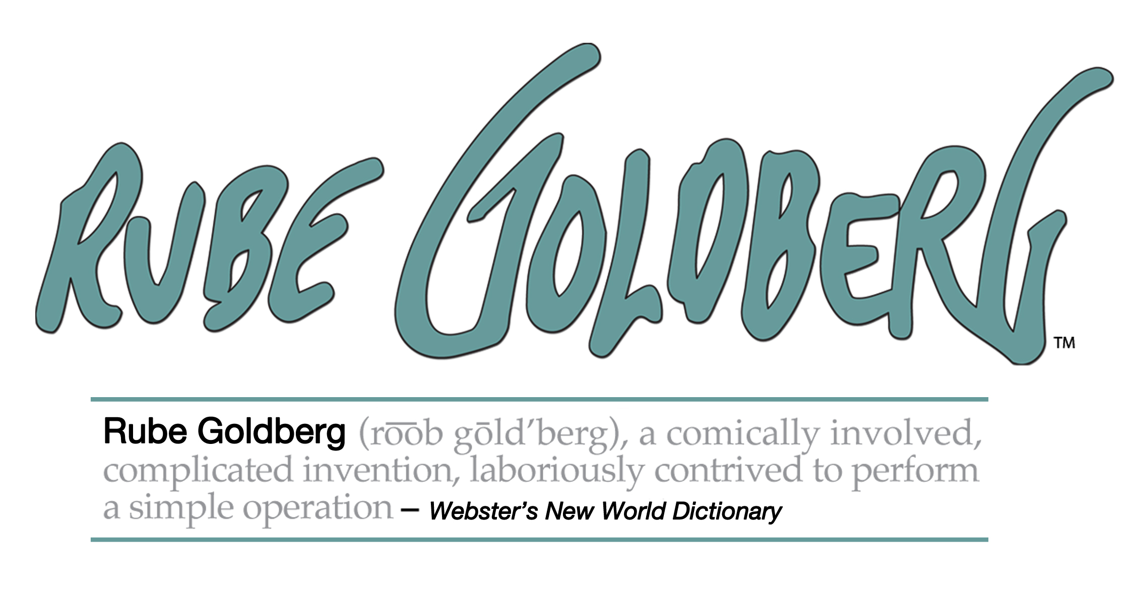 Rub goldberg logo and definition
