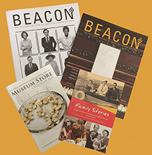 Beacon magazine spread