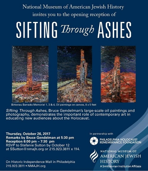 Sifting Through Ashes invite