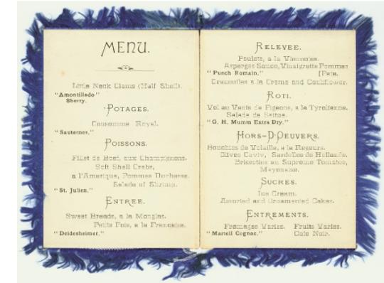 Trefa menu