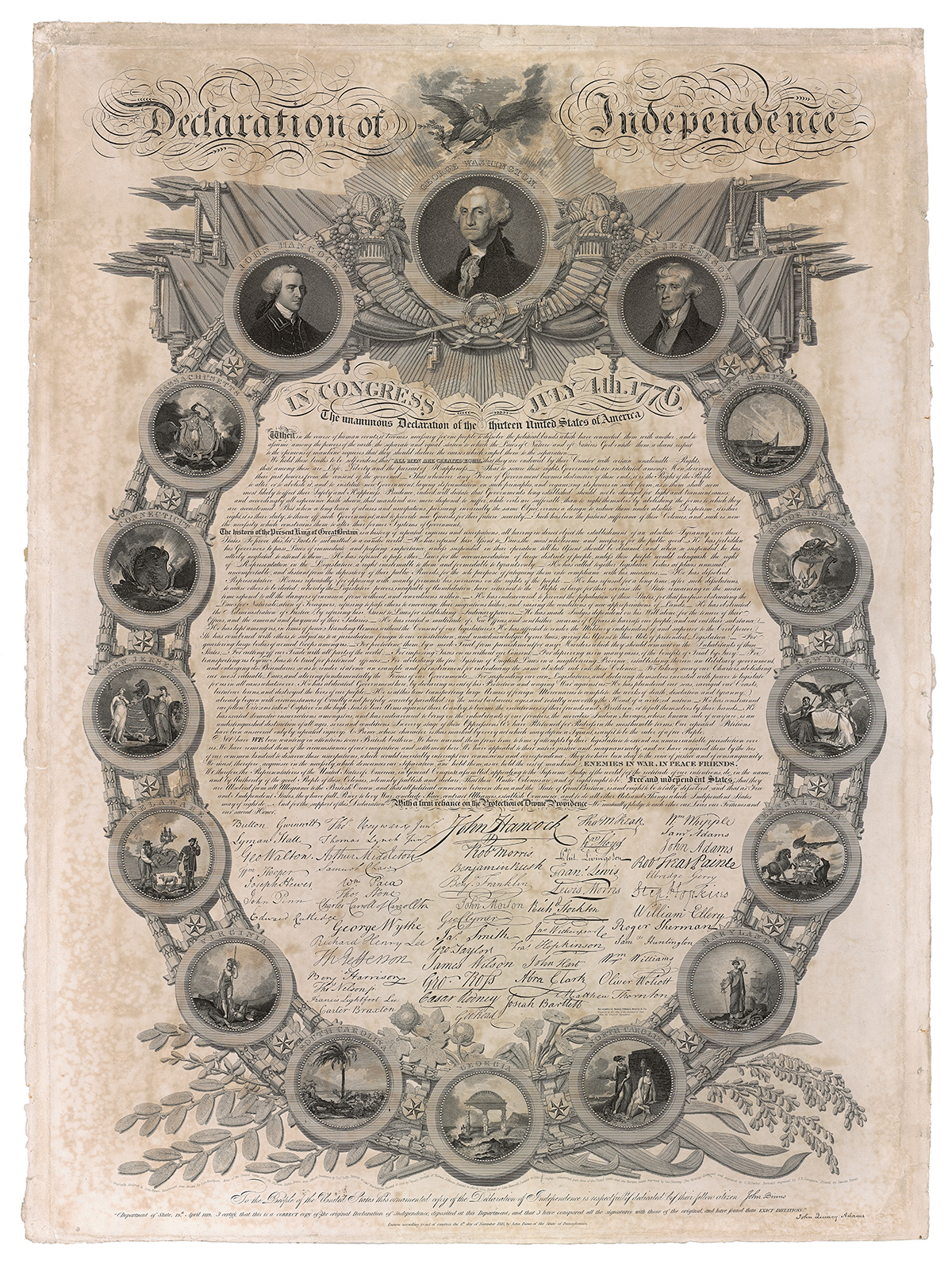 1819 Declaration of Independence